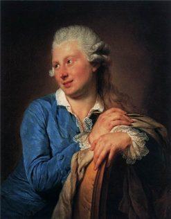 Portrait of Jacob Philipp Hackert | Anna Dorothea Therbusch | Oil Painting