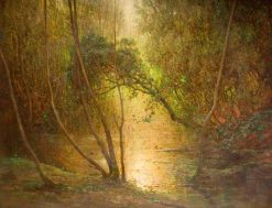 Woodland Waters | Benjamin Haughton | Oil Painting