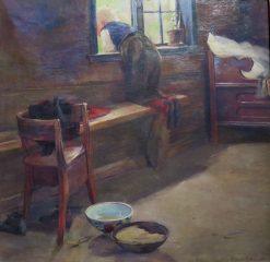 Farmhouse Interior | Bernt Gronvold | Oil Painting