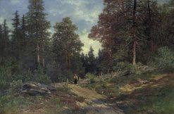Forest Landscape | Philip Barlag | Oil Painting