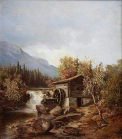 The Watermill | Philip Barlag | Oil Painting