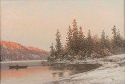 Winter Landscape | Philip Barlag | Oil Painting