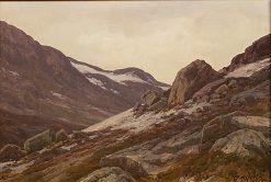 Mountain Landscape   Philip Barlag   Oil Painting