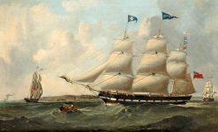 Helen' Arriving in the Mersey | Samuel Walters | Oil Painting