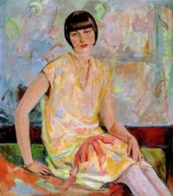 A Young Lady | Emil Orlik | Oil Painting