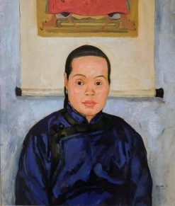 A Chinese Woman | Emil Orlik | Oil Painting