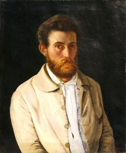 Self Portrait | Vilhelm Kyhn | Oil Painting