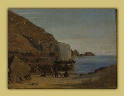 Formation on Bornholm | Vilhelm Kyhn | Oil Painting