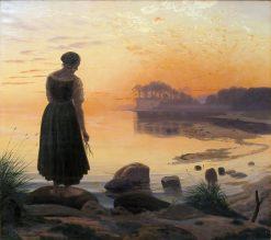 Agnete and Havmanden | Vilhelm Kyhn | Oil Painting