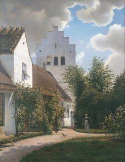 The Parsonage in Greve | Vilhelm Kyhn | Oil Painting