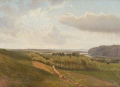 The Outskirts of Ry | Vilhelm Kyhn | Oil Painting