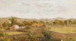 Summer Landscape | Vilhelm Kyhn | Oil Painting