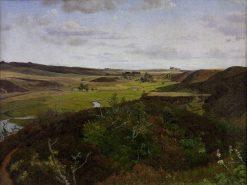 Dollerup Hills near Hald | Vilhelm Kyhn | Oil Painting