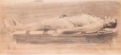 Male Nude | Leopold Blauensteiner | Oil Painting