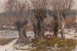 Willows | Leopold Blauensteiner | Oil Painting
