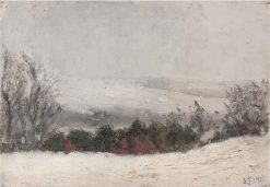 Winter Landscape | Leopold Blauensteiner | Oil Painting
