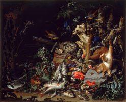 Nest of Redstarts | Abraham Mignon | Oil Painting