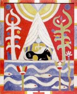 Painting No 4 (also known as A Black Horse) | Marsden Hartley | Oil Painting