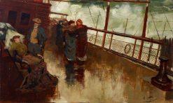 The voyagers | Girolamo Pieri Pecci Ballati Nerli | Oil Painting