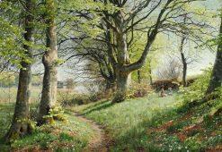 Spring day | Peder Mork Mønsted | Oil Painting