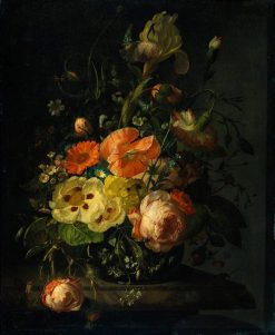 Still Life with Flowers | Franz Xavier Petter | Oil Painting