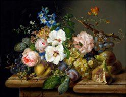 Floral Still Life | Franz Xavier Petter | Oil Painting