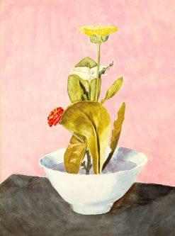 Bowl of Flowers | Morton Livingston Shamberg | Oil Painting