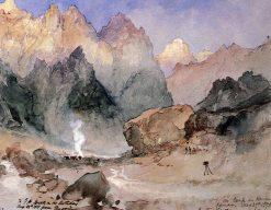 Hance's Canyon   Thomas Moran   Oil Painting