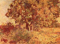 La Tousque | Adolphe-Joseph-Thomas Monticelli | Oil Painting