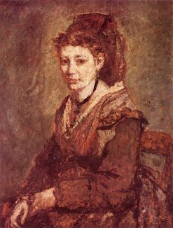 A Woman of Arles | Adolphe-Joseph-Thomas Monticelli | Oil Painting