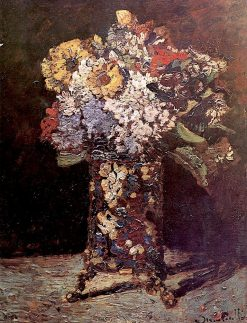 Vase of Flowers | Adolphe-Joseph-Thomas Monticelli | Oil Painting