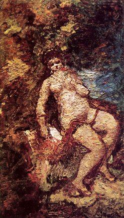 Leda | Adolphe-Joseph-Thomas Monticelli | Oil Painting