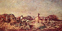 Haymaking | Adolphe-Joseph-Thomas Monticelli | Oil Painting