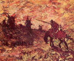 Don Quixote | Adolphe-Joseph-Thomas Monticelli | Oil Painting