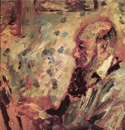 Self-Portrait in front of His Easel | Adolphe-Joseph-Thomas Monticelli | Oil Painting