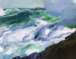 Tumble of Waters | George Wesley Bellows | Oil Painting