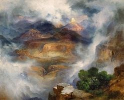 Grand Canyon after a Storm (also known as Grand Canyon of Arizona at Sunrise) | Thomas Moran | Oil Painting