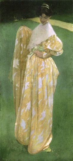 In the Orchard | John White Alexander | Oil Painting