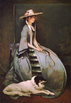 Aurora Leigh | John White Alexander | Oil Painting
