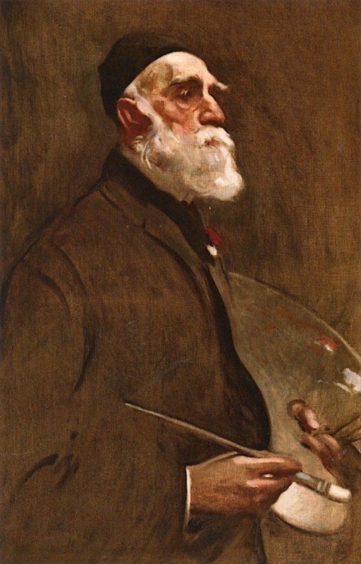 Worthington Whittredge | John White Alexander | Oil Painting