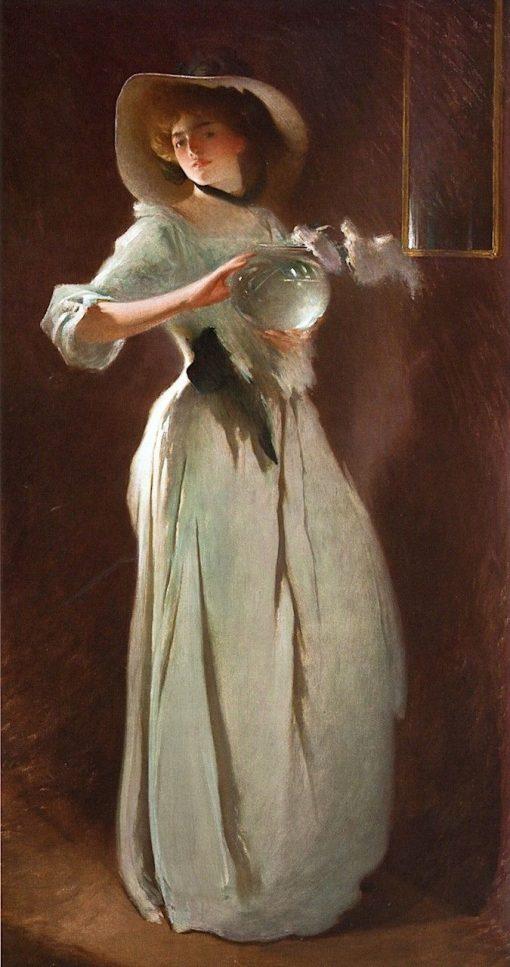 Phyllis | John White Alexander | Oil Painting
