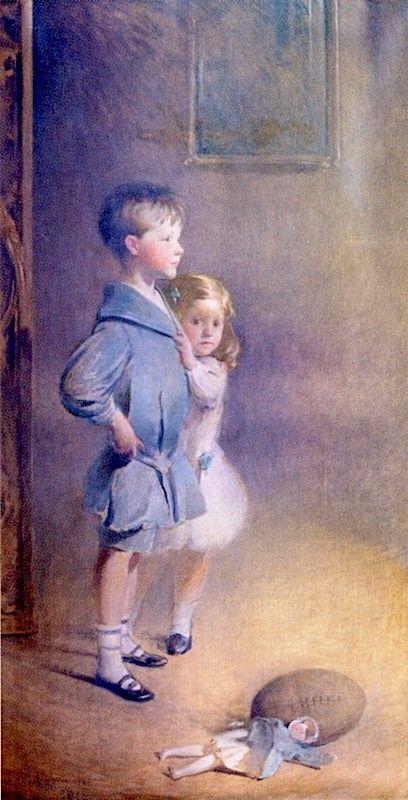 Robert Stewart and Elizabeth Kilborne | John White Alexander | Oil Painting