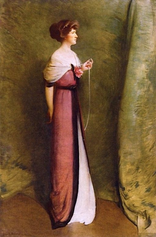 Mrs. Ashton Potter | John White Alexander | Oil Painting