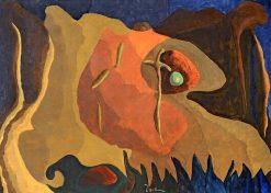 The Green Light | Arthur Dove | Oil Painting