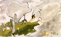 Swans | Arthur Dove | Oil Painting