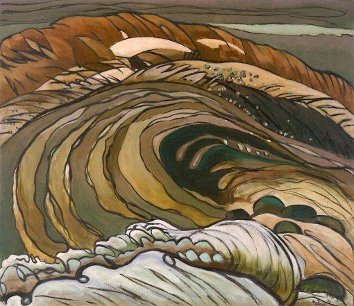 Below the Flood Gates | Arthur Dove | Oil Painting