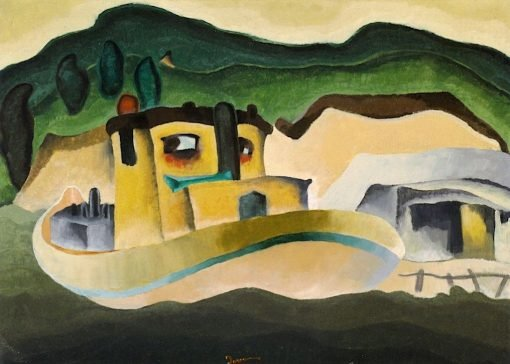 The Bessie of New York | Arthur Dove | Oil Painting