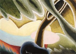 Tree and Covered Boat | Arthur Dove | Oil Painting