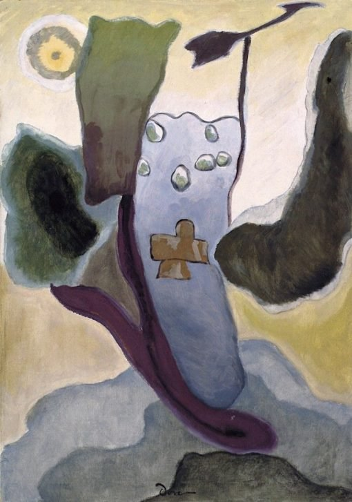 Cross and Weather Vane | Arthur Dove | Oil Painting