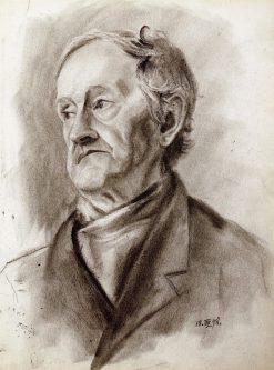 Portrait of a Man | Gabriele Münter | Oil Painting